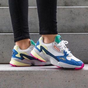 adidas Shoes | Falcon White Multi New
